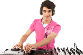 young dj
